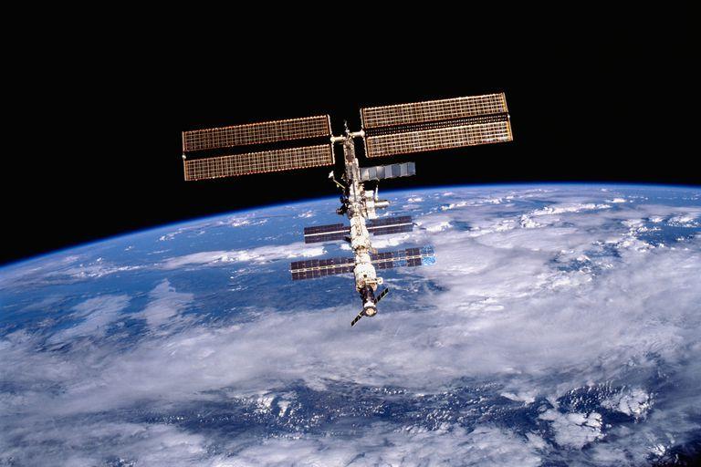 La estación Espacial Internacional está en órbita desde 1998