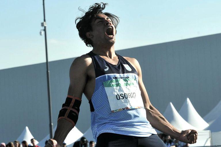 Agustín Osorio ganó la medalla de plata