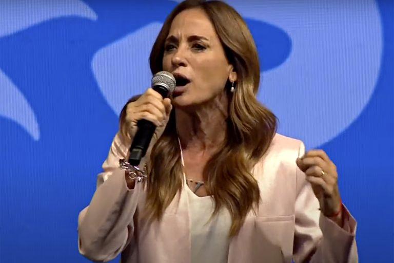 Victoria Tolosa Paz cargó contra la oposición
