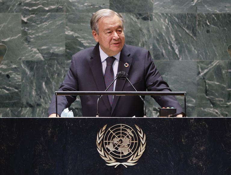 """Alerta de la ONU: """"Estamos al borde de un abismo y debemos detenernos"""""""
