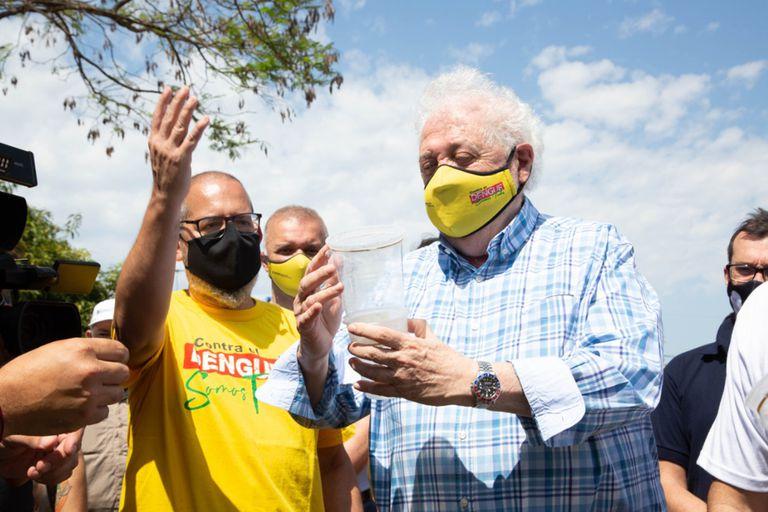 Ginés González García encabezó el lanzamiento de la campaña nacional contra el dengue