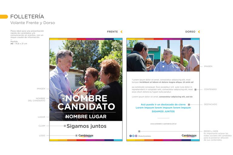 El asesor ecuatoriano del macrismo apuesta a homogeneizar el mensaje de campaña con charlas de marketing en las que prioriza la cercanía y la estética