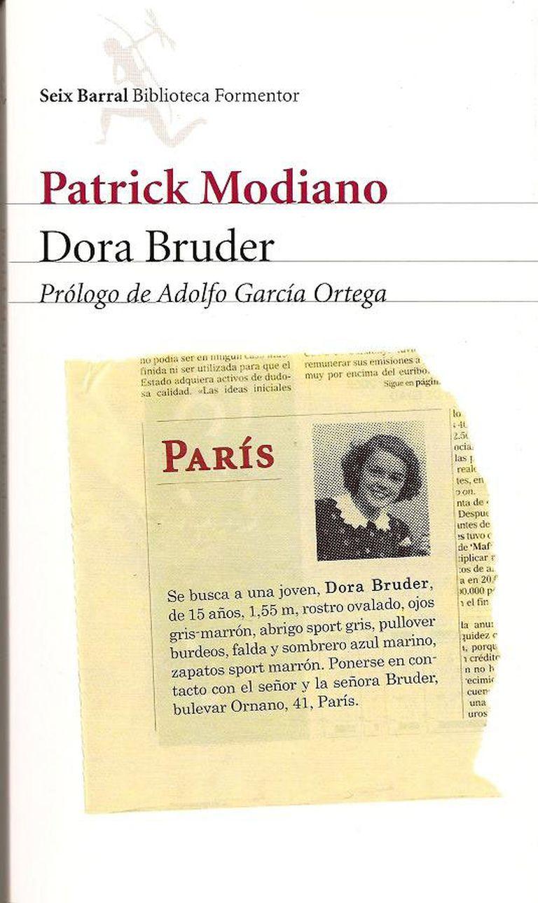 Dora Bruder, uno de los emblemas de Modiano