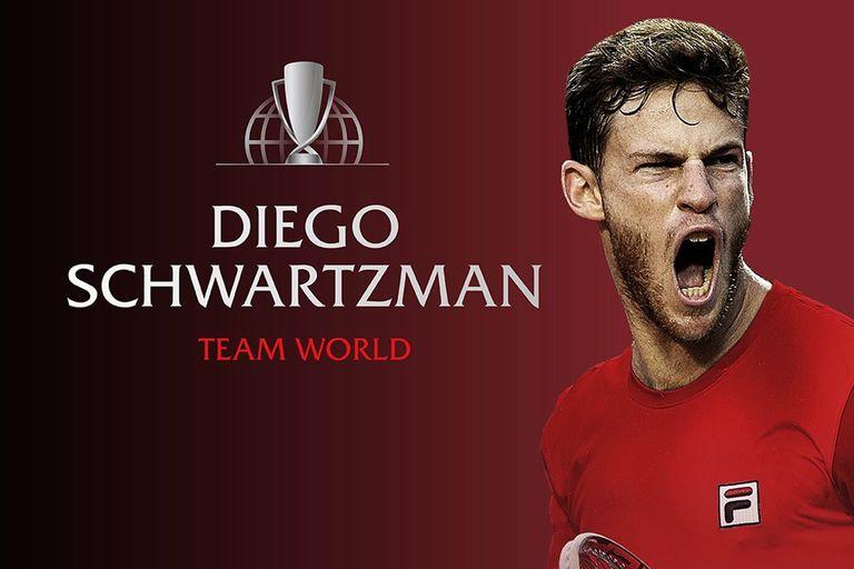 Diego Schwartzman será parte de un gran espectáculo: la Laver Cup, en Chicago