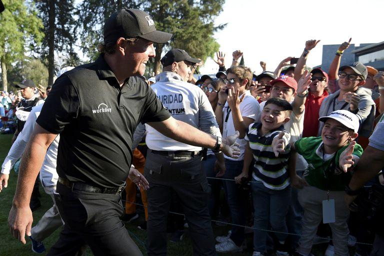 El golf no tiene edad: Phil Mickelson, el Houdini que le escapa al tiempo