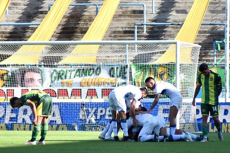 Con un gol de Alan Marinelli, Rosario Central le ganó por 1-0 a Aldosivi, en Mar del Plata