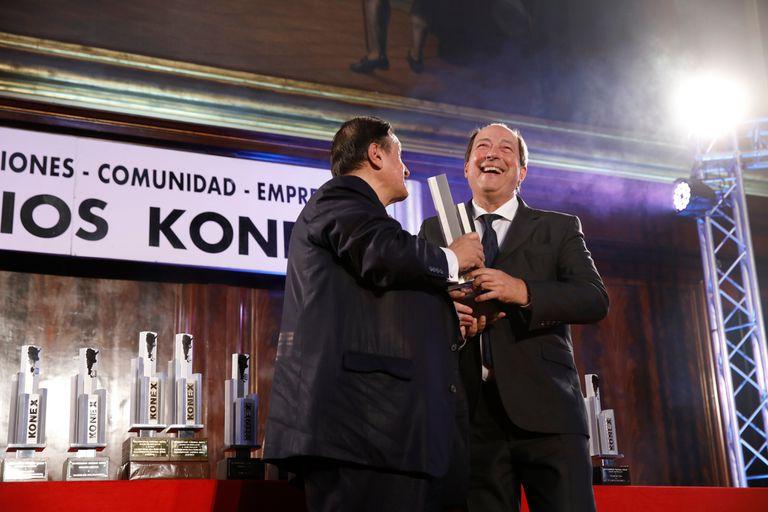 Se entregaron los premios Konex a las instituciones y a la comunidad