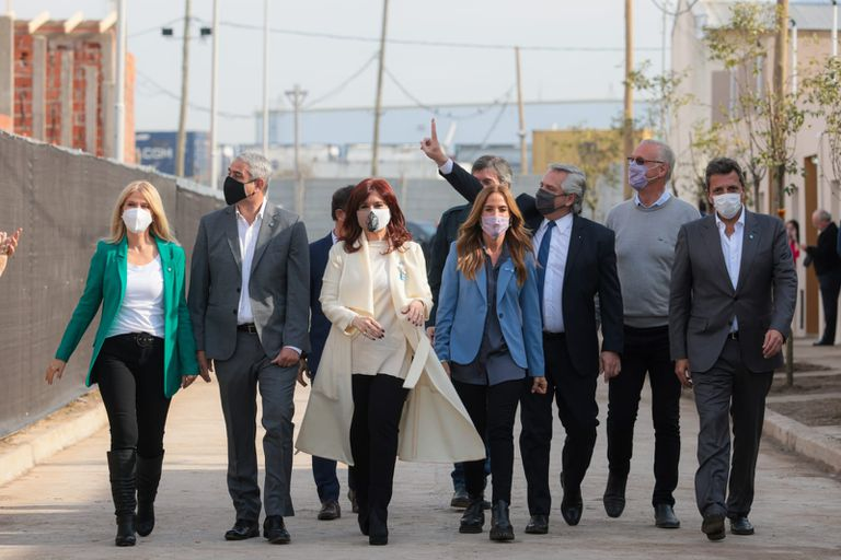 Cristina Kirchner, Alberto Fernández, Sergio Massa y Axel Kicillof