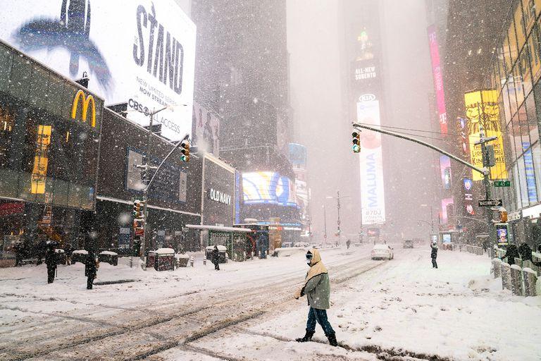 """Nueva York. """"Estado de emergencia"""": la tormenta de nieve que llega a la ciudad"""
