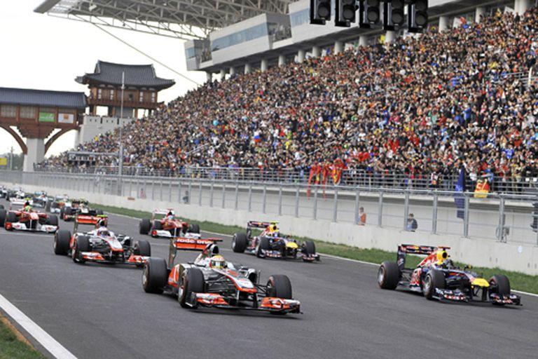 Corea del Sur vuelve calendario de la F1 en 2015