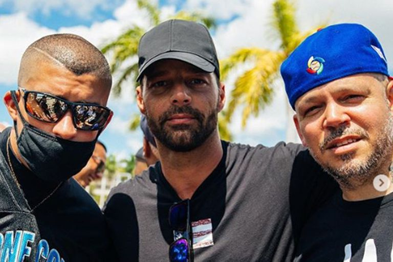 Los músicos unidos por Puerto Rico