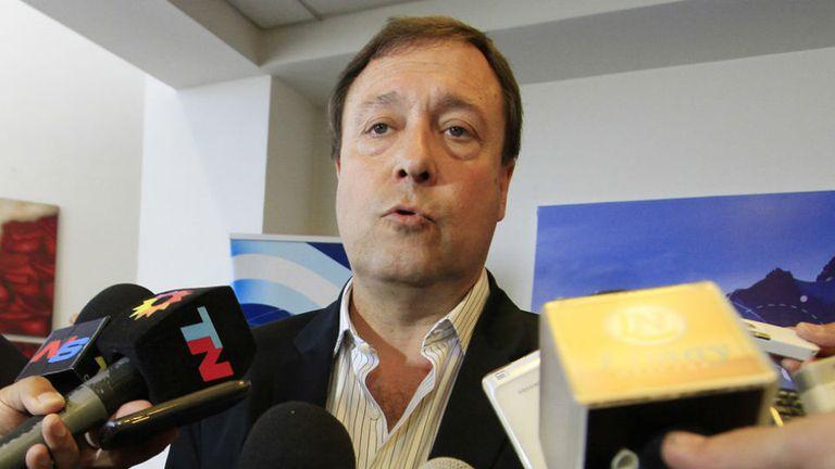 El gobernador de Río Negro Alberto Weretilneck