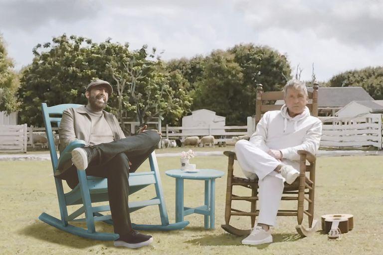 Juan Luis Guerra y Ricardo Montaner, dos potencias de la música latina