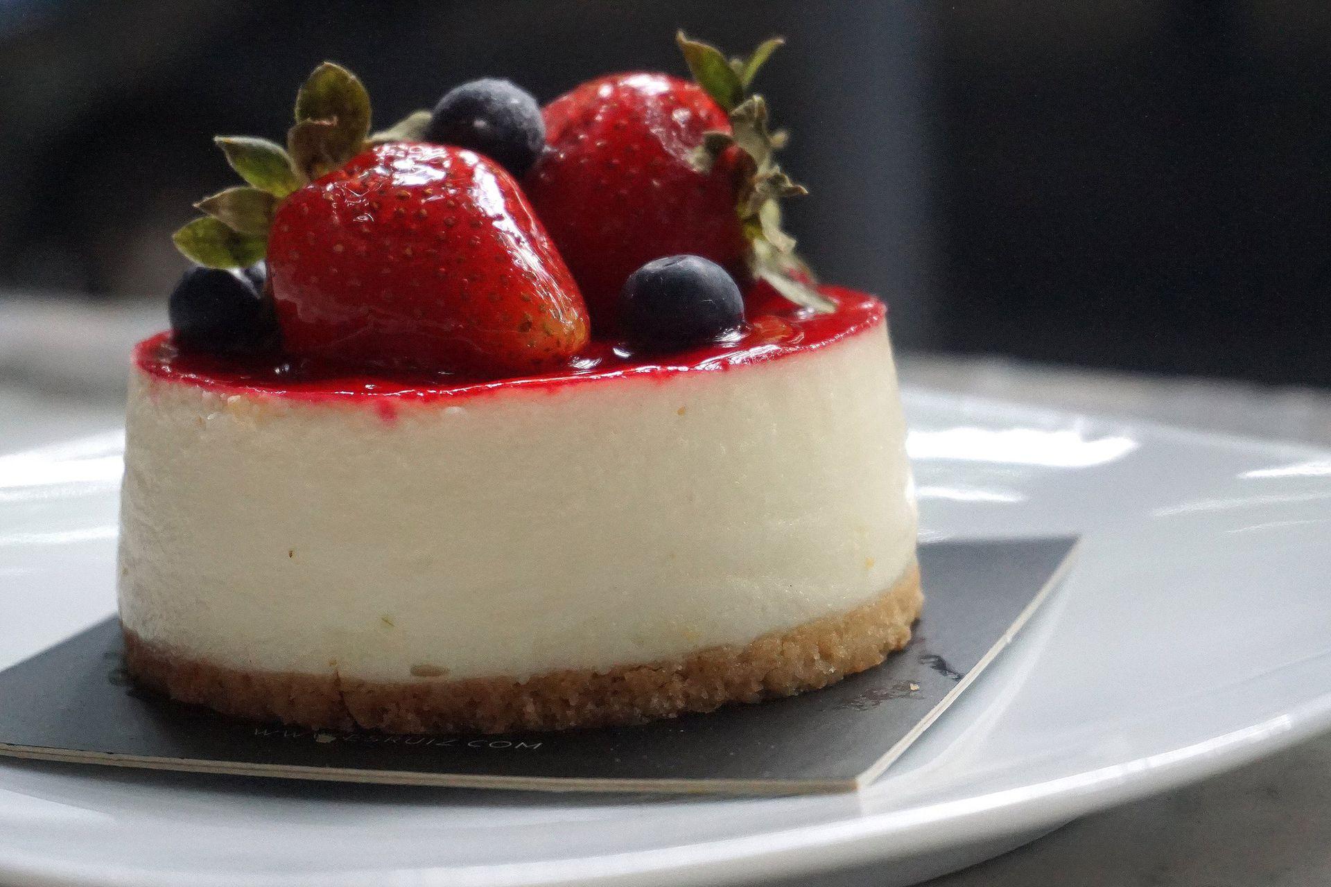 Cheesecake liviana y fresca