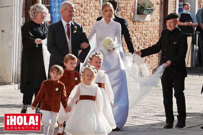 Alexandre Arnault, hijo del tercer hombre más rico del mundo, se casó en Venecia