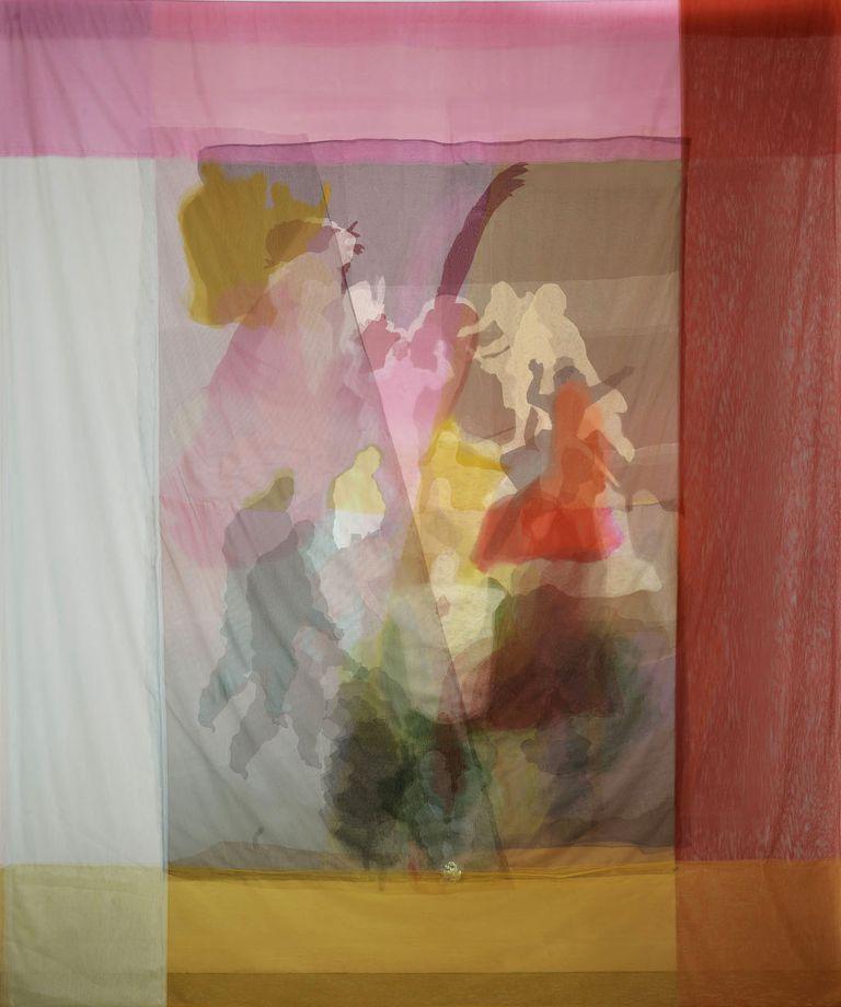 Tules y otros materiales traslúcidos en la obra de Teresa Giarcovich