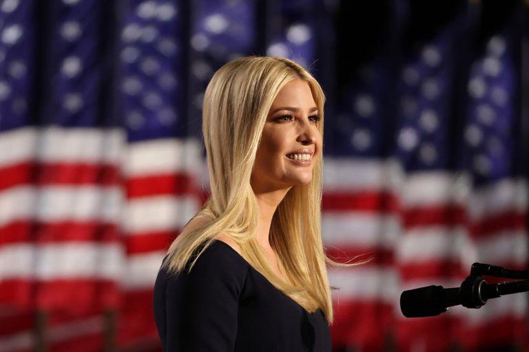 Ivanka Trump, hija del presidente estadounidense Donald Trump y asesora de la Casa Blanca, durante la convención republicana, el 27 de agosto pasado