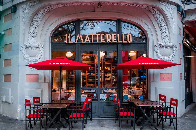 Las pastas más italianas están en Il Matterello, un restaurante cuya primera sucursal está en La Boca