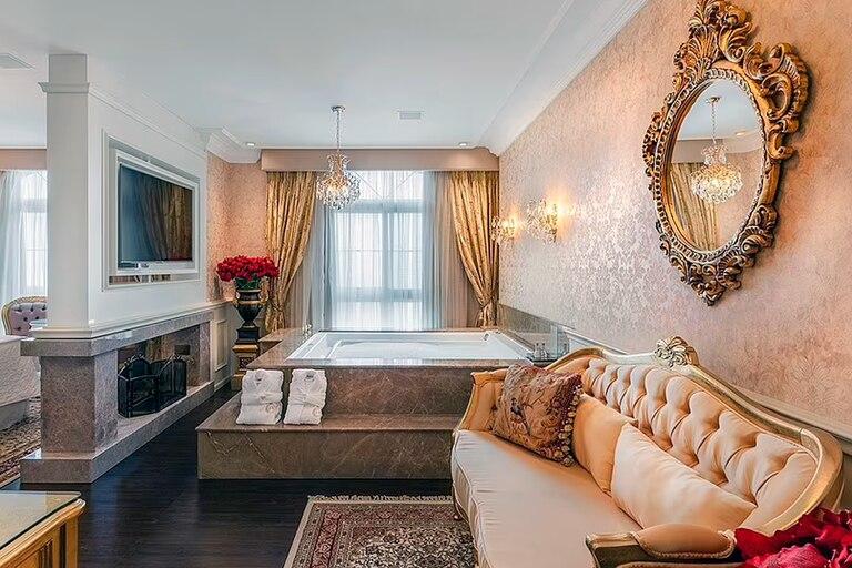 El Hotel Colline de France en Brasil, con temática de un castillo francés, fue elegido como el mejor hotel del mundo
