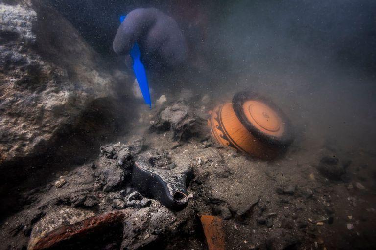 Un equipo de arqueólogos hizo un magnífico descubrimiento sumergido en las aguas del Mediterráneo cerca de Alejandría