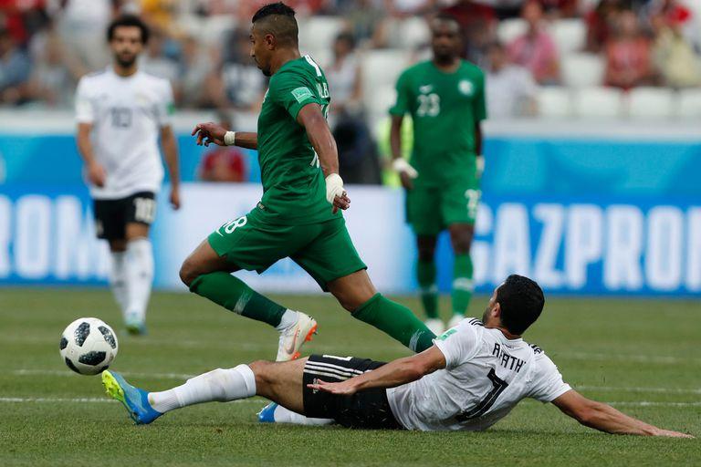 Salem Al Dawsari, autor del tanto del éxito para Arabia Saudita, supera la marca de Ahmed Fathi