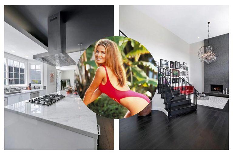 Carmen Electra puso a la venta la mansión donde está viviendo en Los Ángeles, valuada en 2,95 millones de dólares