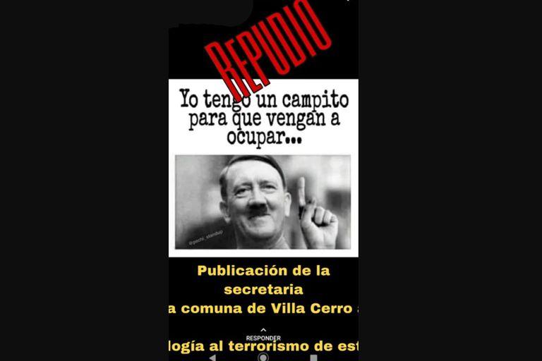 Córdoba: suspenden a un intendente por reivindicar a Videla y a Hitler