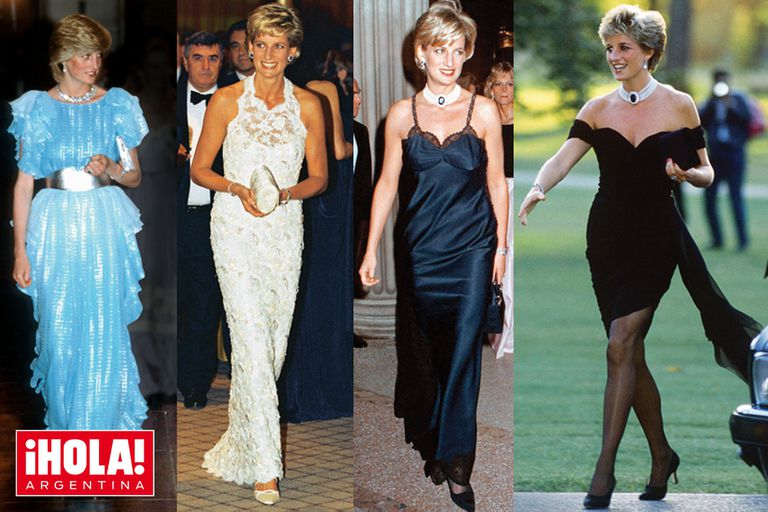 La princesa de Gales contaba su estado de ánimo a través de la ropa