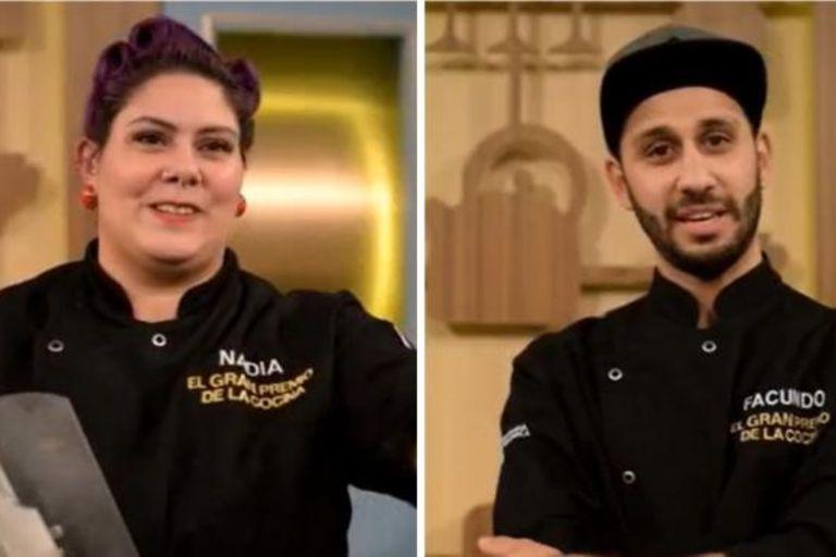 Nadia y Facundo se enfrentaron en la gran final de El gran premio de la cocina