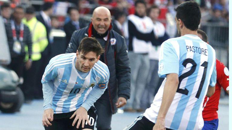 Sampaoli quiere dirigir a Messi en la selección
