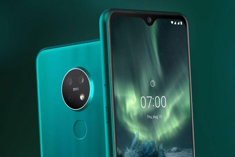 El Nokia 7.2 pone foco en Android One y una cámara triple