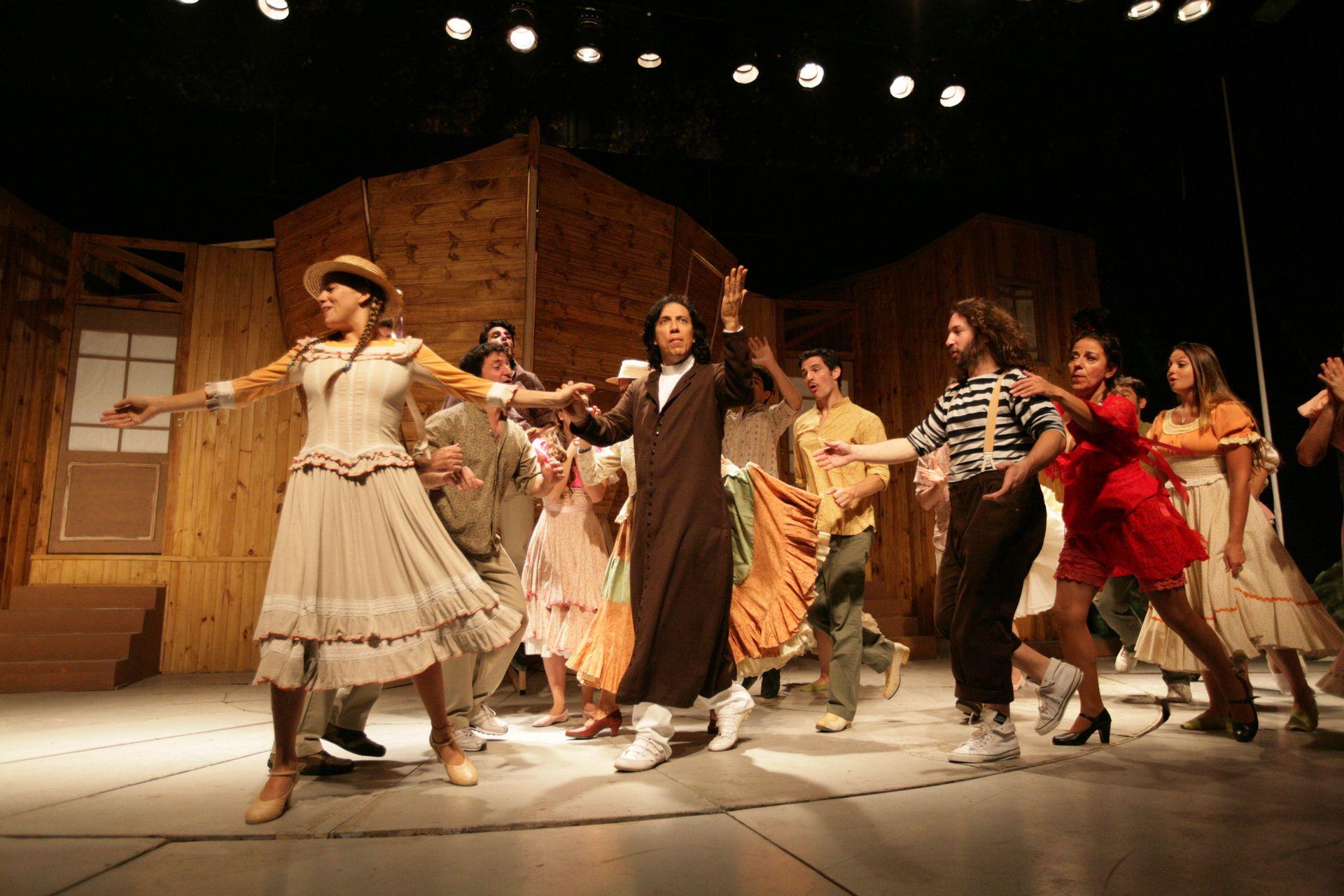 El diluvio que viene, en el teatro Tronador, en diciembre de 2010