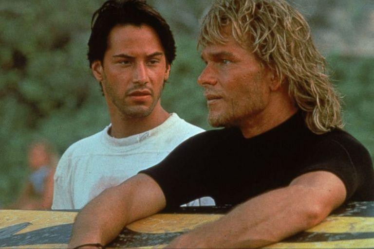 Keanu Reeves y Patrick Swayze en Punto límite