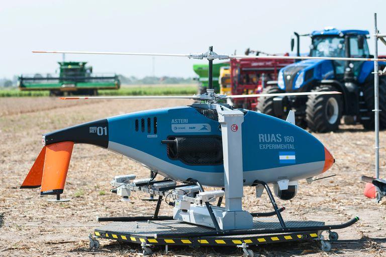 RUAS-160: así es el helicóptero no tripulado diseñado en la Argentina