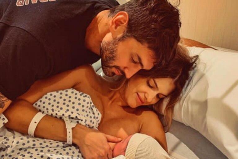La modelo subió a su cuenta de Instagram un conmovedor video del momento en que nació la pequeña Cala