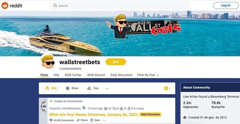 """En Estados Unidos hablan de """"trolleo financiero"""" a Wall Street por el impacto del grupo de inversores de Reddit"""