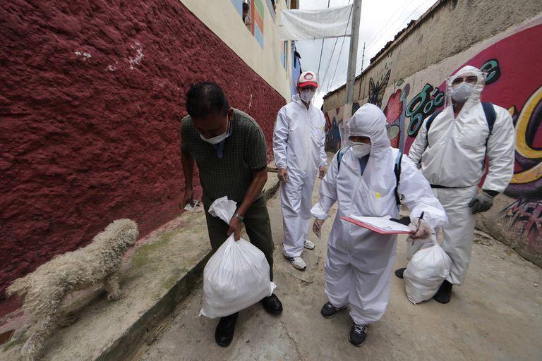 Colombia suma más de 6500 positivos