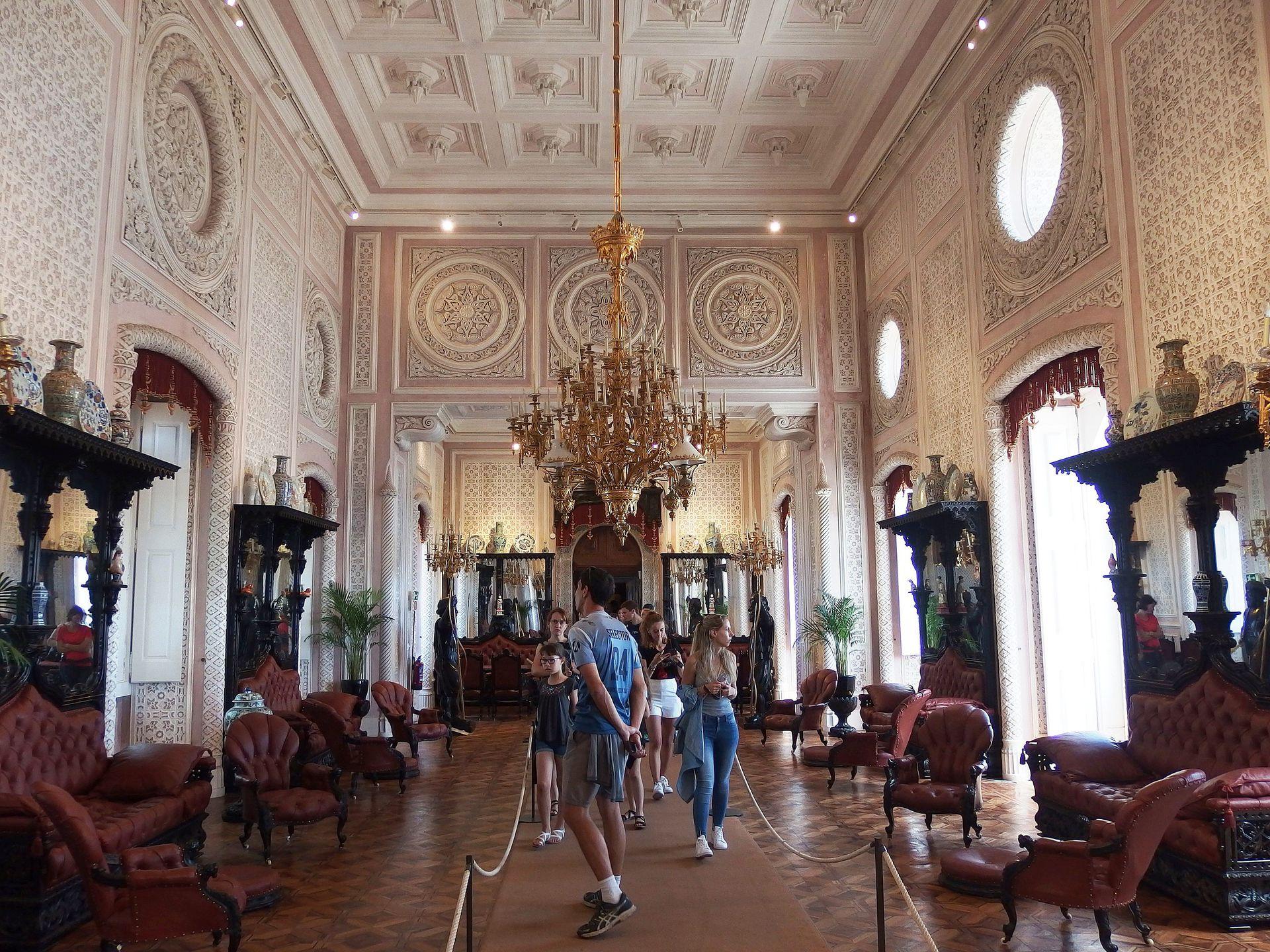 El palacio da Pena es monumento nacional.