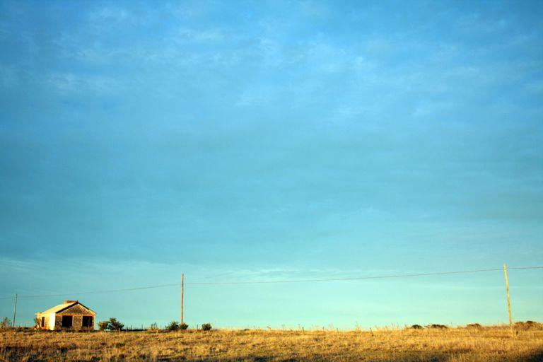 En El Remanso Mar del Sud hay pocas casas cerca del mar y lejos del pueblo