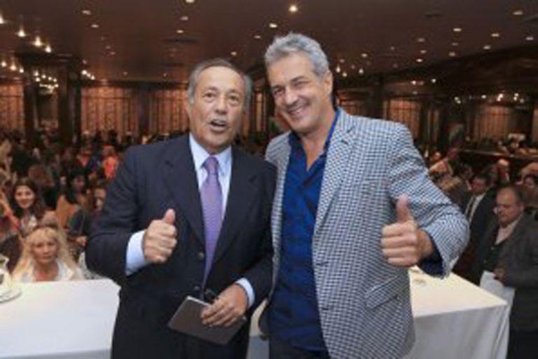 Ivo Cutzarida junto a Adolfo Rodríguez Saa