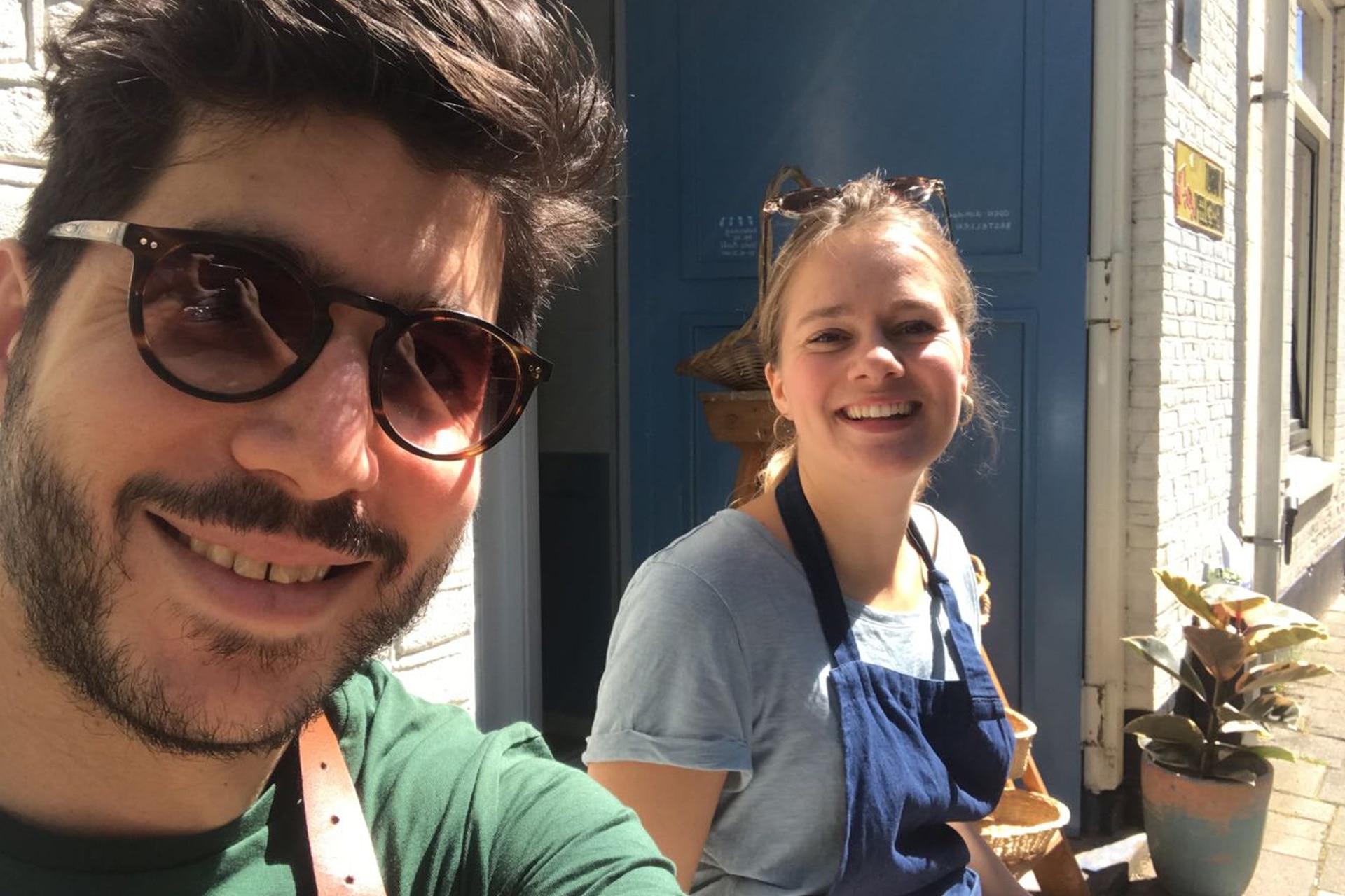Kevin y Mirte empezaron con este proyecto en un viaje a Buenos Aires