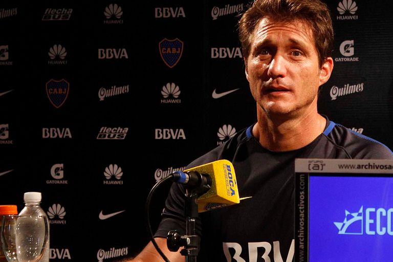 """""""Cuando se expida la justicia, tomaremos una decisión sobre su futuro"""", dijo el entrenador de Boca"""