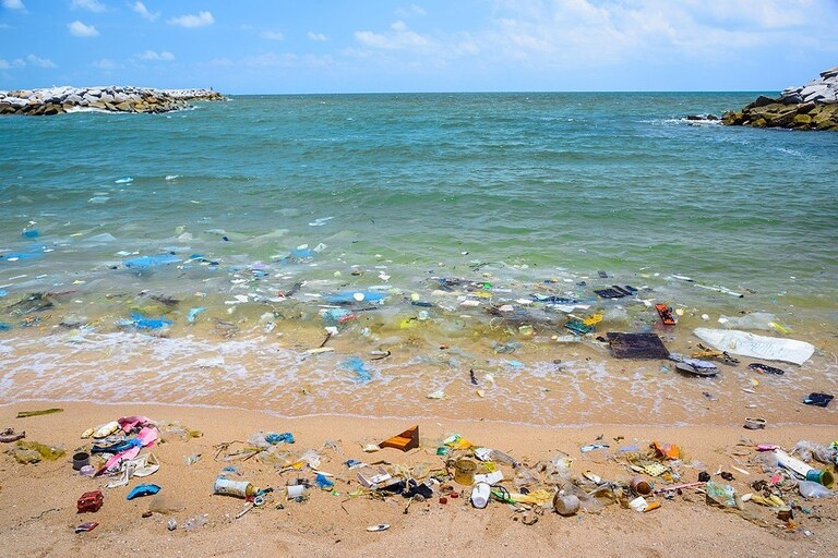 Por la desaprensión de muchos, nuestros mares devuelven diariamente toneladas de plásticos