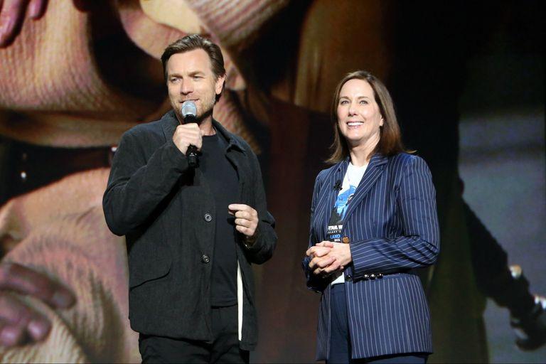 Ewan McGregor y Kathleen Kennedy confirmaron que el actor escocés será nuevamente Obi Wan Kenobi en una serie para la plataforma de streaming de Disney