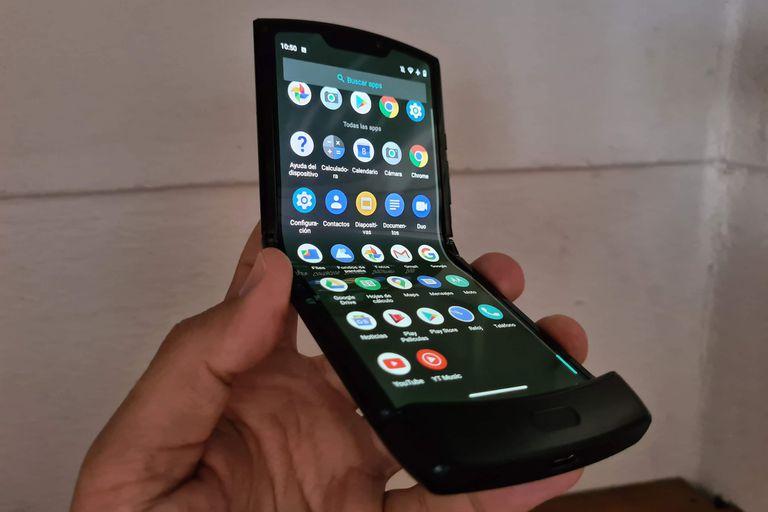 Probamos el Moto Razr con la actualización a Android 10