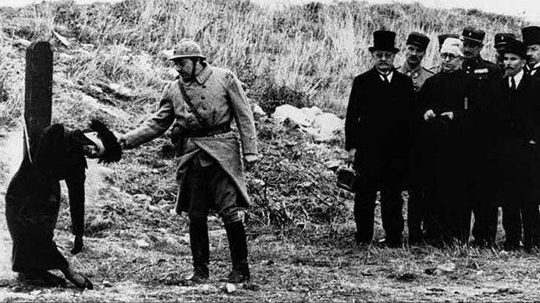 La ejecución de Mata Hari