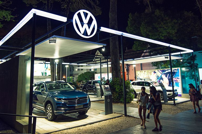 El impresionante espacio de Volkswagen en Cariló