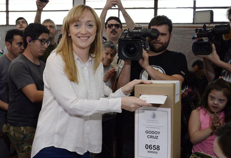 Anabel Fernández Sagasti, candidata a senadora nacional por Mendoza