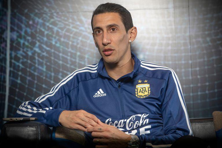 A Di María lo obsesiona un título con la Argentina