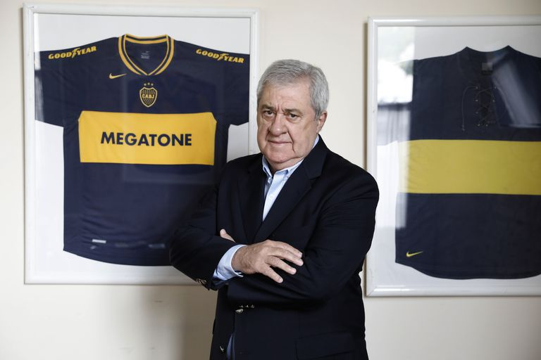 Jorge Amor Ameal, presidente de Boca, dijo que al club lo quisieron perjudicar en la final con Banfield.